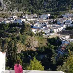 Vista paisajista de Grazalema